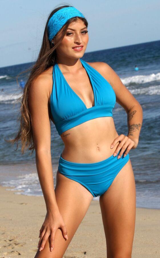 Oasis Beach Banded Thong Bikini